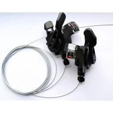 Манетки SRAM X4  3×8 скоростей
