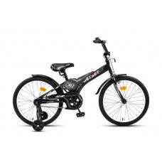 """Велосипед детский JetSet 20"""" черно-серый JS-2004"""