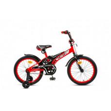 """Велосипед JETSET 16"""" JS-1602 (красно-черный)"""