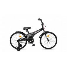 """Велосипед JETSET 18"""" JS-1804 (черно-серый)"""